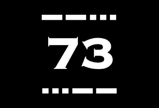 The amazing history of 73 and other prosigns